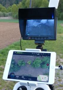 Monitor mit Wärmebild